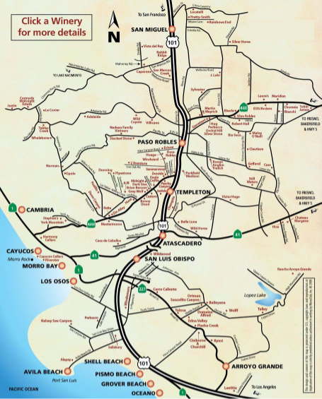 san luis obispo airport map San Luis Obispo Airport City Map San Luis Obispo County san luis obispo airport map